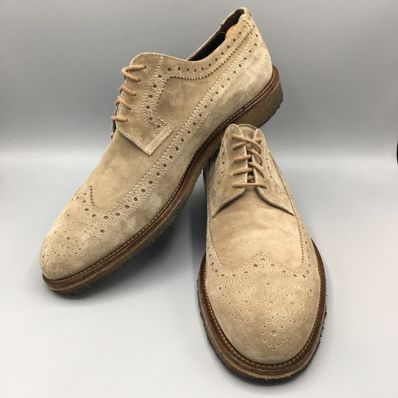 To Boot New York Suede Wingtips